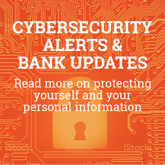 Cyber Security Alerts and Bank Updates