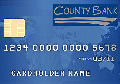 County Bank Chip Card